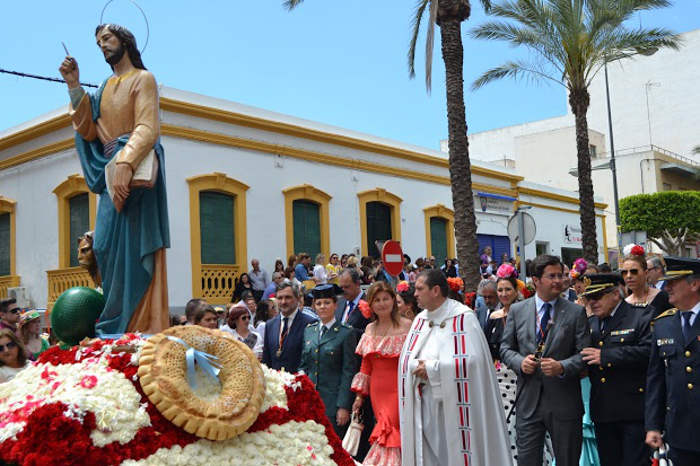 P rroco y alcalde de el ejido almer a presiden junto a - El ejido almeria ...