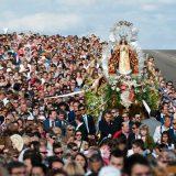 bajada de la Virgen en Getafe