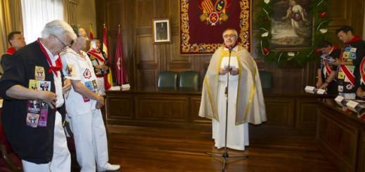 misa en Ayuntamiento Teruel