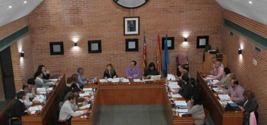 pleno ayuntamiento de Aldaia Valencia 2016