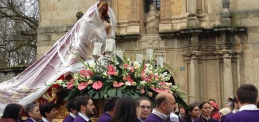 procesion en Cacabelos Leon 2016
