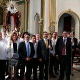 Alcalde Cartagena en misa Cristo Salud 2016