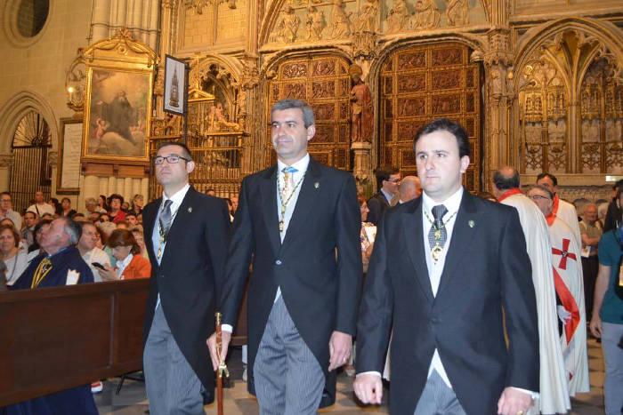 Alvaro Gutierrez presidente Diputacion procesion Corpus Toledo 2016