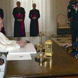 Bergoglio y Macri 2016