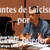 Cesar Tejedor Apuntes de laicismo ELS
