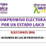 Compromiso electoral propuestas 2016