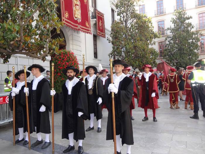Corpus Granada 2016 pajes