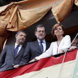 ARCHDC ---- Toledo 26-05-16 El presidente del Gobierno en funciones, Mariano Rajoy, ha acudido a presenciar la procesión del Corpus Christi de Toledo. Foto Ana Perez Herrera