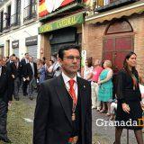 Paco cuenca concejal PSOE Granada procesion Corpus