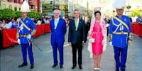 alcalde Lucena preside procesion 2016