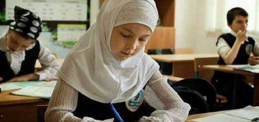 alumna musulmana aula