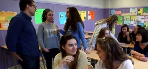 alumnas IES Malilla Valencia 2016