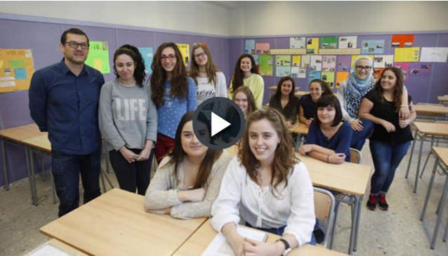alumnas IES Malilla Valencia 2016 video
