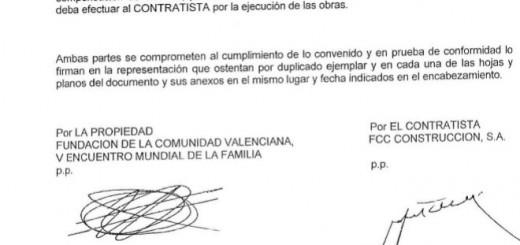 donaciones iglesia visita papa Valencia