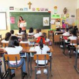 escuela confesiona crucifijo
