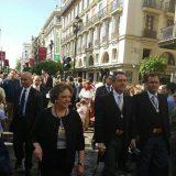 juan espadas alcalde Sevilla Corpus 2016