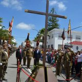 jura bandera clerical en Vejer Cadiz 2016
