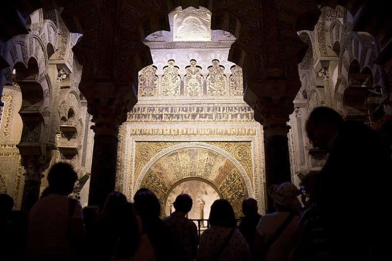 mezquita de Cordoba y turismo 2016