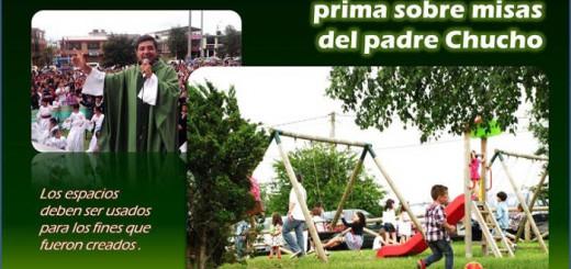 misas parque Bogota Colombia 2016