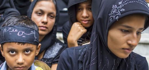 musulmanes en Birmania 2016