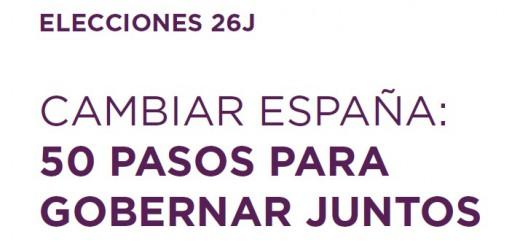 progrma IU Podemos 2016