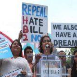 protesta transexuales USA 2016