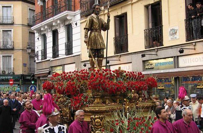 san Isidro procesion Madrid