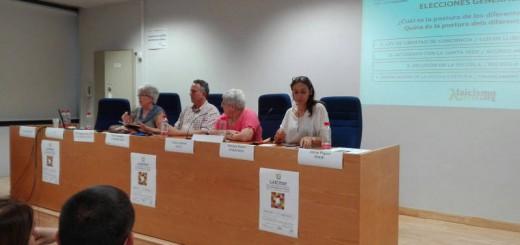 Acto laicidad y elecciones Valencia Laica 2016 a