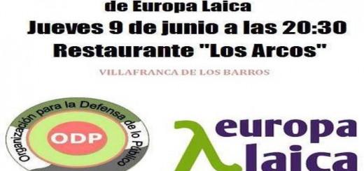 Caartel acto Extremadura 2016