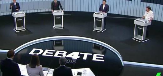 Debate a cuatro 2016