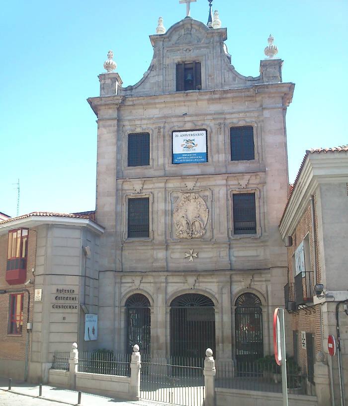 Iglesia catedral castrense Madrid 2016