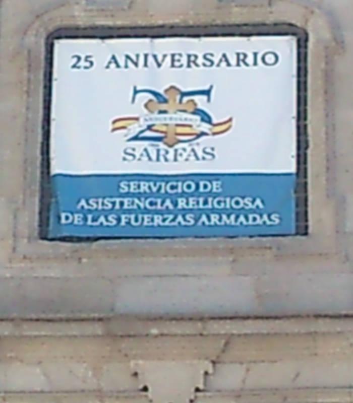 Iglesia catedral castrense Madrid 25 SARFA