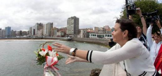 alcaldesa gijon bendicion aguas san Pedro