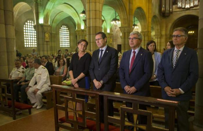 bendicion de las aguas San Pedro Gijon 2016 misa