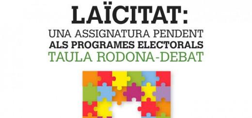 cartel acto elecciones Valencia  2016