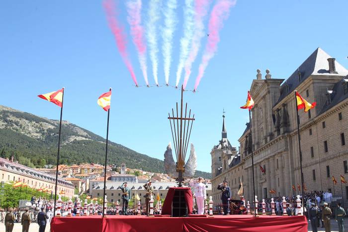 felipe rey misa Escorial 2016
