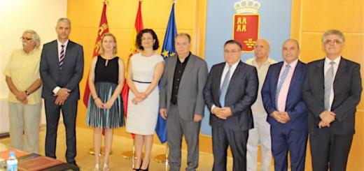 firma protocolo en Murcia Consejo Evangelico 2016
