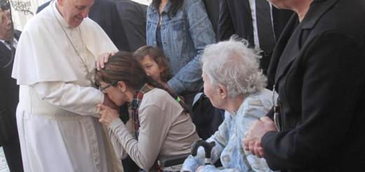 francisco-con-los-medicos-y-enfermos-hispanoamericanos Bergoglio 2016