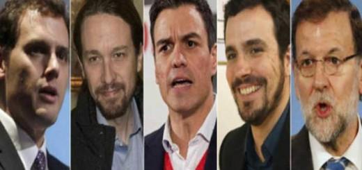 lideres politicos elecciones 2016