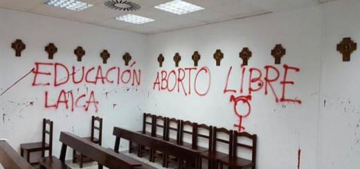pintadas capilla universidad autonoma Madrid 2016