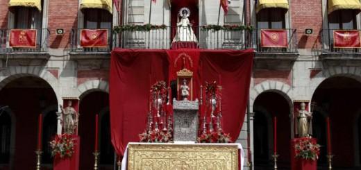 virgen de la concha en el ayuntamiento de Zamora
