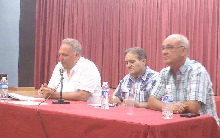 Acto Getafe 2016 Jose Arias y Paco Delgado
