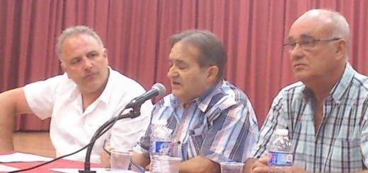 Acto Getafe 2016 Paco Delgado y Jose Arias