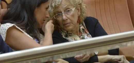 Carmena con portavoz Ciudadanos