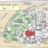 Ciudad del Vaticano plano