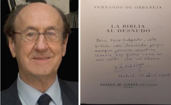 Fernando de Orbaneja y libro