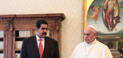 Maduro y Bergoglio