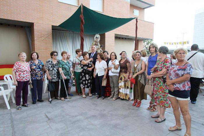 alcalde Algeciras actos virgen del Carmen  2016