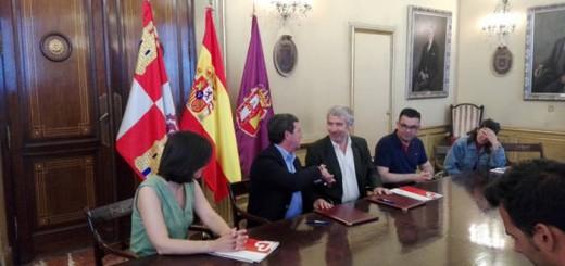 convencio Diputacion Burgos y Caritas 2016