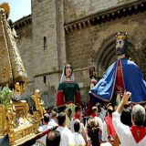 procesion Santa Ana en Tudela